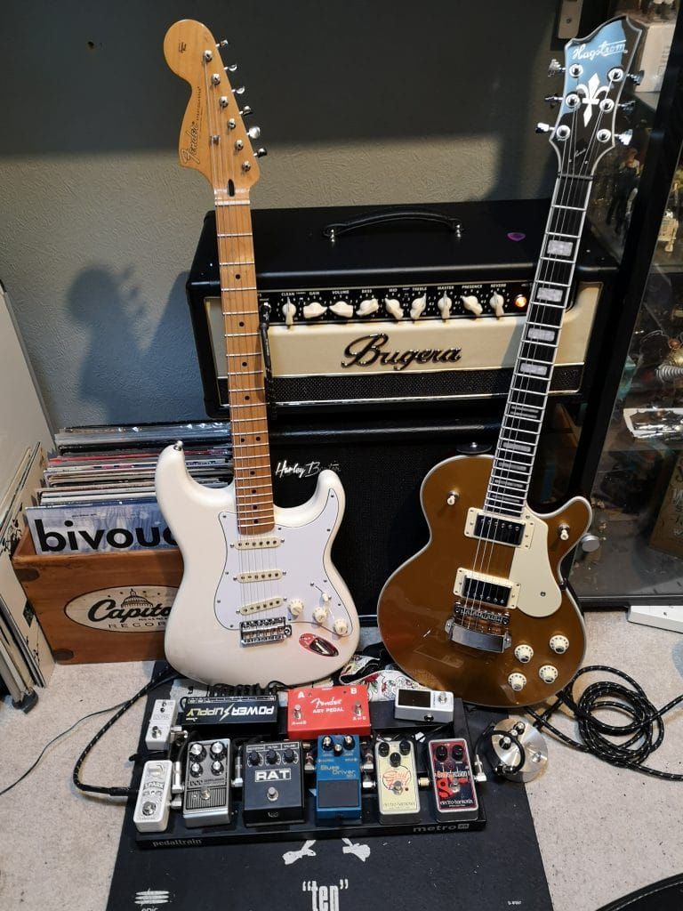 Fender and Hagstrom