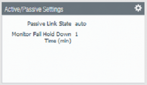 Palo Alto High Availability firewall 2 active passive settings